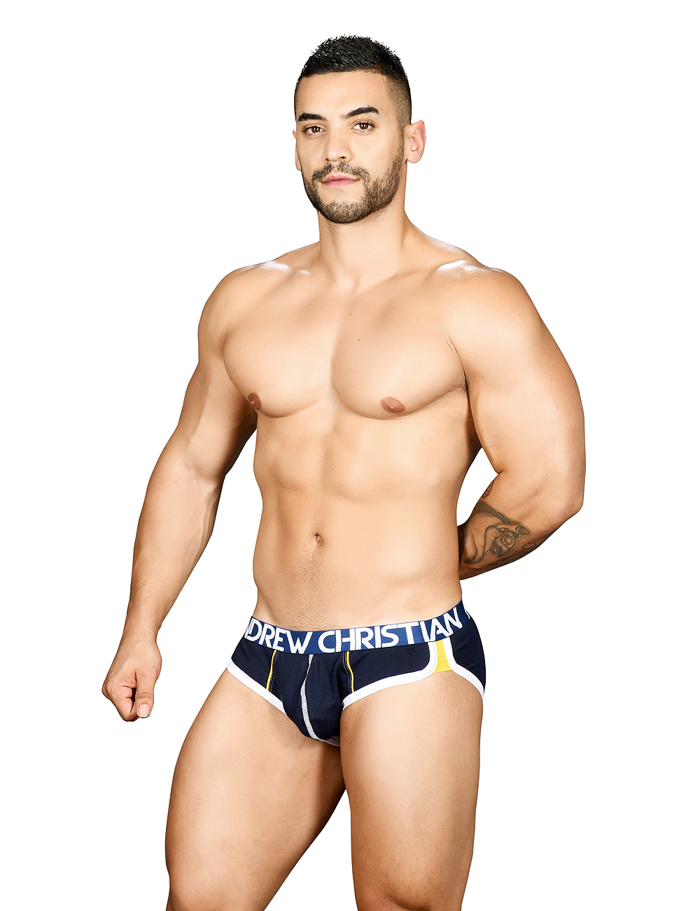 50b04ccfb Andrew Christian Show-It Retro Pop Brief navy