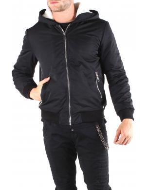 Absolut Joy Outdoor Jacke mit Fleece schwarz