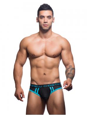 Andrew Christian Air Jock w/ Almost Naked schwarz