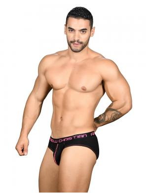 Andrew Christian Almost Naked Happy Brief schwarz