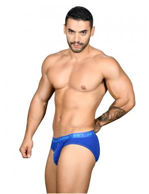 Andrew Christian Almost Naked Happy Brief Royalblau