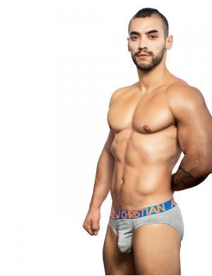 Andrew Christian Almost Naked Premium Brief Heather Grey