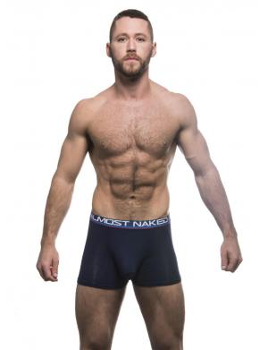 Andrew Christian Almost Naked Tagless Boxer navy
