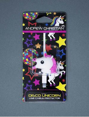 Andrew Christian Disco Unicorn USB Cable Protector (ohne Kabel)
