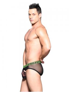 Andrew Christian FUKR Gigolo Air Brief Schwarz