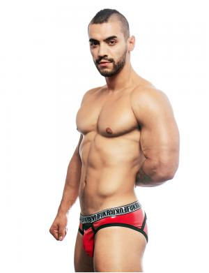 Andrew Christian FUKR Gloss Brief rot