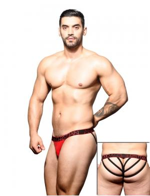 Andrew Christian Inferno Lattice Thong w/ Almost Naked rot