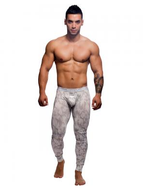 Andrew Christian MASSIVE Ice Queen Legging Camouflage / Weiß