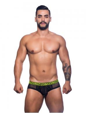 Andrew Christian Master Brief schwarz