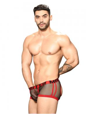 Andrew Christian Master Net Air Boxer w/ Almost Naked schwarz /