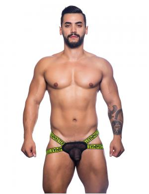 Andrew Christian Master Y-Back Jock Thong w/ Almost Naked schwar