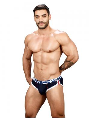 Andrew Christian Show-It Retro Pop Brief navy