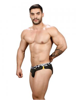 Andrew Christian Show-It Retro Pop Locker Room Jock charcoal