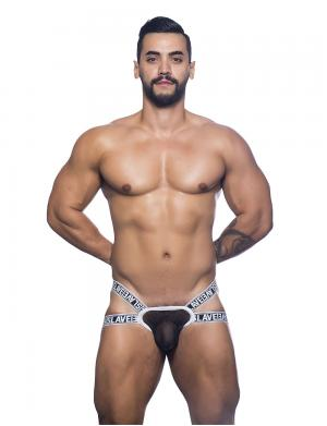 Andrew Christian Slave Y-Back Jock Thong w/ Almost Naked schwarz