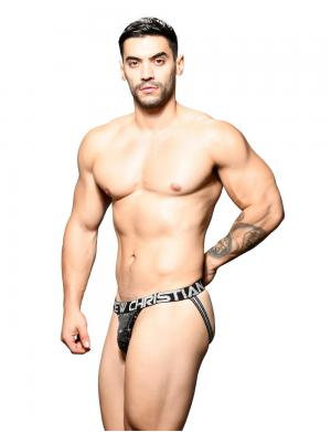 Andrew Christian Star Jock w/ Almost Naked Schwarz / Silber