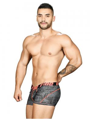 Andrew Christian Vibe Precision Boxer Reaction Print