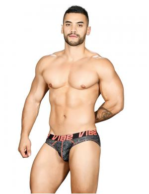 Andrew Christian Vibe Precision Brief Reaction Print