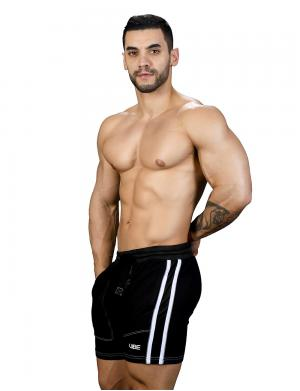 Andrew Christian Vibe Pure Training Shorts Schwarz