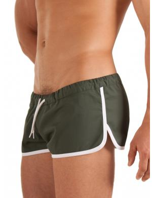Barcode Berlin BC GYM SHORT olive