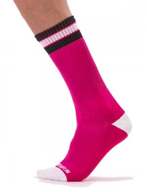 Barcode Berlin Fashion Socks Paris Pink / White / Black