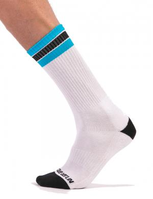 Barcode Berlin Fashion Socks Paris White / black / blue
