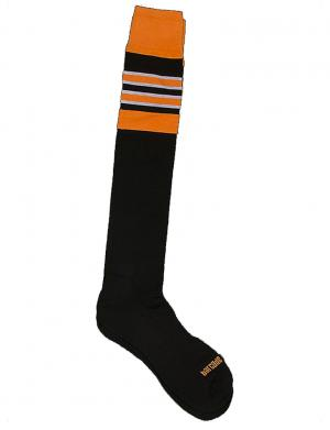 Barcode Berlin Football Socks schwarz / orange