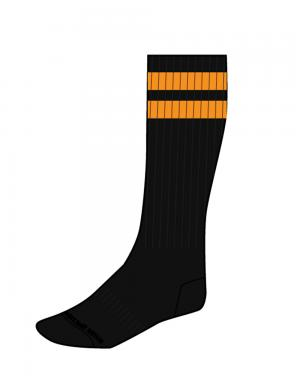 Barcode Berlin Gym Socks schwarz / orange