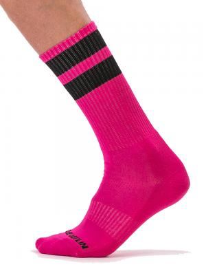 Barcode Berlin Gym Socks pink / black