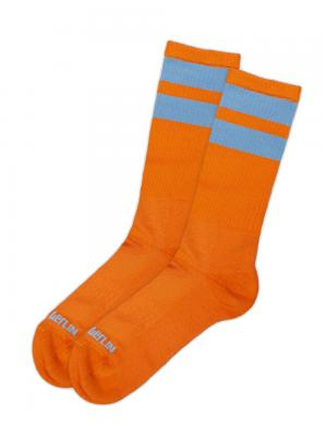 Barcode Berlin Gym Socks Neonorange / Grau