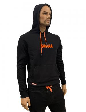 Barcode Berlin Hoody Single Schwarz