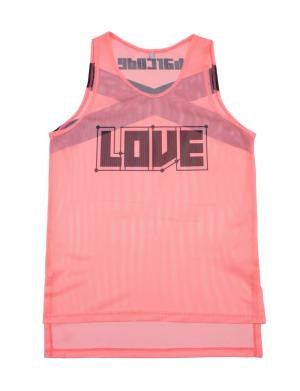 0e85ed07a79bc8 Barcode Berlin Neon Tank Top LOVE Pink   Black