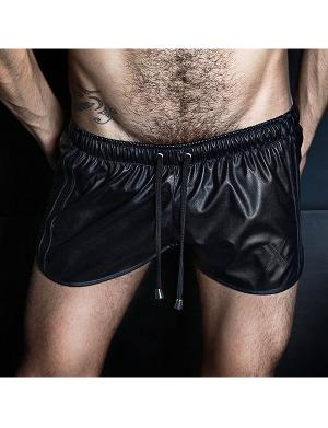 Boxer Barcelona Sexy Short All Black schwarz