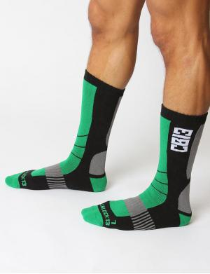 Cellblock13 Vector Knee High Socks grün