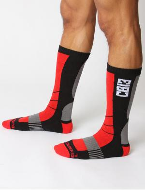 Cellblock13 Vector Knee High Socks rot