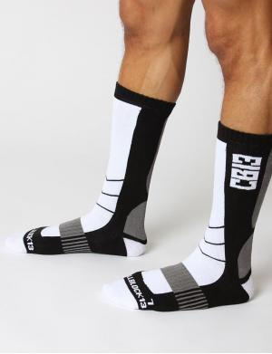 Cellblock13 Vector Knee High Socks weiß