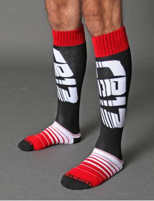 Cellblock13 Velocity Socks rot