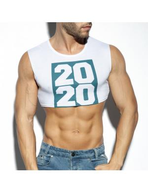 ES Collection 2020 CROP TOP weiß