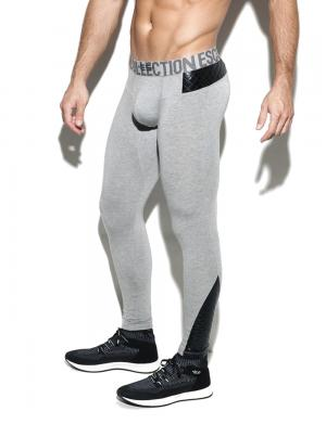 ES Collection Dystopia Long John Heather Grey