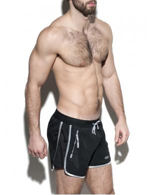 ES Collection Marlon Plain Bermuda Swimshorts schwarz