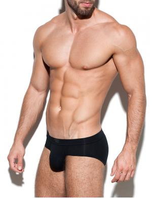 ES Collection Second Skin Basic Brief schwarz