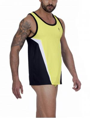 LEADER Contour Sports Tank top Yellow