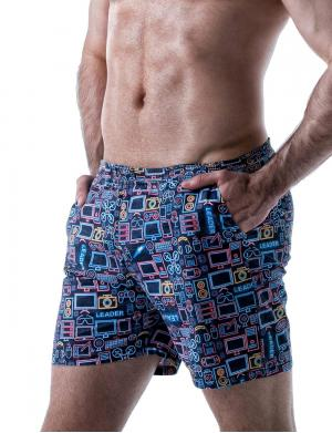 LEADER Digital Shorts Blau
