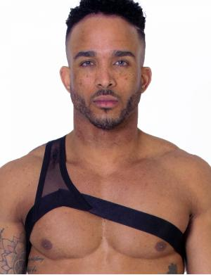 LEADER Gladiator Harness Schwarz