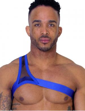 LEADER Gladiator Harness Blau