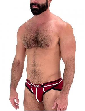 Nasty Pig Axial Brief Dunkelrot