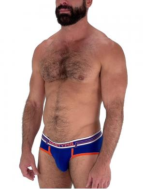 Nasty Pig Competition Brief Blau