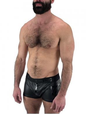 Nasty Pig Contrast Trunk Short schwarz