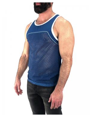 Nasty Pig Edge Tank Top blue