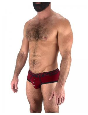 Nasty Pig Insignia Brief red / black