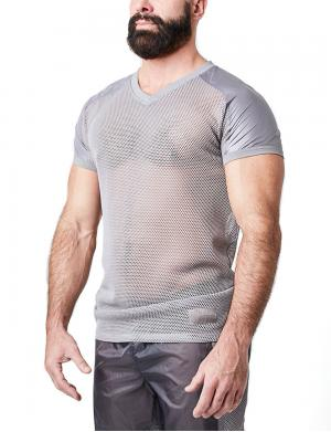 Nasty Pig Launch Mesh Shirt grau